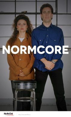 Citing Jerry Seinfeld and Steve Jobs as inspiration,normcoreis an anti-fashion movement that promotes a minimalist