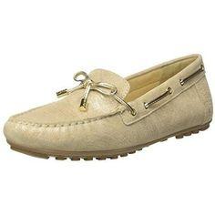 62d9353f126f Chaussure mocassin Mocassin Geox Leelyan pour Femme couleur  Or B-XM3F