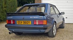 Classic Cars British, Ford Classic Cars, Ford Rs, Car Ford, 1990s Cars, Ford Motorsport, Cars Uk, Ford Escort, Retro Cars