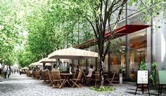 アーバンデザイン|グランフロント大阪 GRAND FRONT OSAKA Commercial Complex, Commercial Street, Shopping Street, Shopping Malls, Landscape Architecture, Landscape Design, Grand Front, Shopping Mall Architecture, Osaka