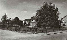 Vervlogen tijden De Retstraat in Beneden-Leeuwen; nieuw huis van familie Burgers.