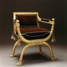 Ancient Egyptian Royal King Tut Tutankhamen Throne Armchair For .