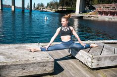 Yoga on a sunny day. Denim Print Leggings and Cage Bra. #activewear #fitness  #gymwear #plussize #plusactivewear #temaathletics #athleisure #bottom #meshtee #meshdetails #meshback #peekaboo #yoga #zumba #ootd #outfit #Black #leggings #bottoms #capri #yogaoutfit #yogaleggings #gymwear #gymleggings #running #highwaist #compression #plus #plusfitness #bodypositive #curvy #curvyfashion #plus-sizeactivewear #plusfashion  #athleticwear #athlete #crossfit #yogi #yogini #plusyoga #blog