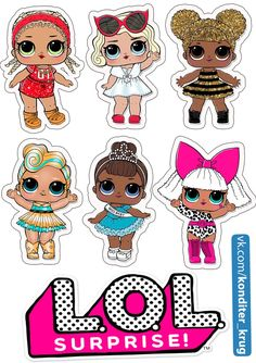 Best 12 Top of Paper Cake to Print Several Free Templates – My Best Partys – SkillOfKing. Doll Birthday Cake, Funny Birthday Cakes, Lol Doll Cake, Doll Party, 6th Birthday Parties, Lol Dolls, Cute Drawings, Cute Art, Ideas Para Fiestas