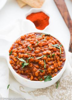 Ethiopian Lentil Stew - would need berbere spice