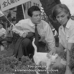 Hiroshima mon amour (1959) dir. Alain Resnais #hiroshimamonamour #film #movies #cinema #love #beauty #alainresnais #50s #1950s