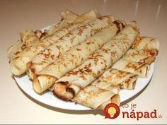 palacsinta (Hungarian Crepes) Just like the Croatian ones! Hungarian Desserts, Hungarian Cuisine, Hungarian Recipes, Hungarian Food, A Food, Good Food, Food And Drink, Croatian Recipes, Food Stall