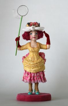 個展の人形・その8 - 羊毛倉庫の日々