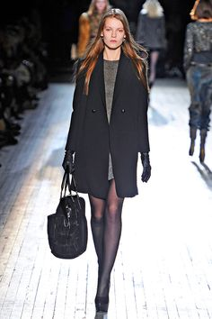 On our list for Sept? A great new coat from Theyskens'