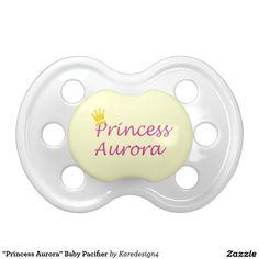"""Princess Aurora"" Baby Pacifier"