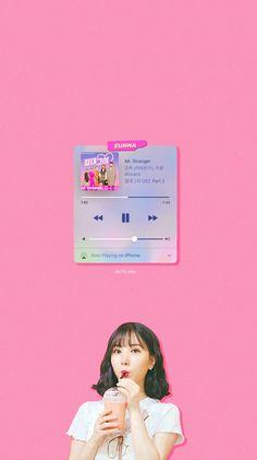 Lock Screen Wallpaper, Iphone Wallpaper, Gfriend Yuju, Nerd Problems, Jung Eun Bi, G Friend, Kpop, Korean Singer, Aesthetic Wallpapers