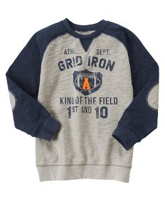 Grid Iron Sweatshirt at Gymboree