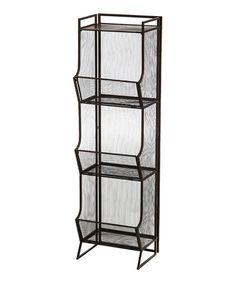Look what I found on #zulily! Three-Bin Wire Mesh Storage #zulilyfinds