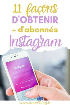 Comment gagner facilement des followers sur Instagram ? #instagrammarketing #instagramfollowers #instagramabonnes #augmenterabonnesinstagram Instagram Tips, Le Web, Business Tips, Digital Marketing, Youtube, Content Marketing, Stuff Stuff, Youtubers
