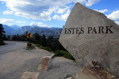 Estes Park, Colorado  Where I took Andy for our first Adventure! Changed that mans life forever!