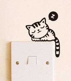 Animal Wall Switch Stickers