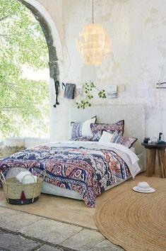 Modern bohemian bedroom decorating ideas 06