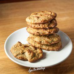 30-minutowe ciasteczka słonecznikowo-gryczane z imbirową nutą ⋆ AgaMaSmaka - żyj i jedz zdrowo!