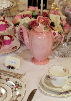 teatime.quenalbertini2: Tea party | all the beauty things...