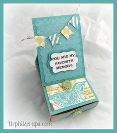 Easel Card Memory Box