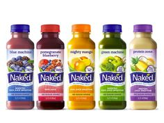 Naked Juice on Packaging of the World - Creative Package Design Gallery