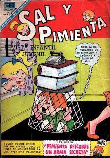Cool-tura retro. La mejor forma de (re)vivir los ochentas.: Sal y Pimienta