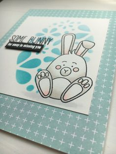 Today I want to share two very cute Easter cards with you. One is with a cute chickie, the other one features an adorable little bunny. Happy Easter, Easter Bunny, Easter 2020, How To Stay Healthy, Cute, Cards, Handmade, Design, Kawaii