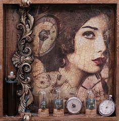 LaBlanche :: Mixed Media Collagen