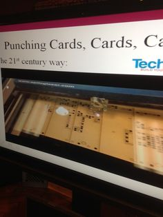 Laser-cut Punch Cards for Jacquard Looms