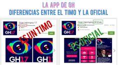 El timo de la #app de #GH17
