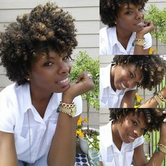Carmeon is Naturally Glam! | Curly Nikki | Natural Hair Styles and Natural Hair Care She reminds me of a girl i know (Hope)