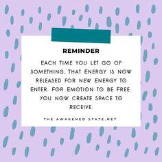 The Letting Go Process Ascension Symptoms, Indigo Children, New Energy, Create Space, Spiritual Awakening, Letting Go, Meditation, Spirituality, Advice