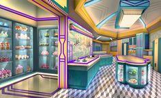 Episode Interactive Backgrounds, Episode Backgrounds, Scenery Background, Animation Background, Cartoon Wallpaper, Cool Wallpaper, Fantasy World, Fantasy Art, Art Studio Room