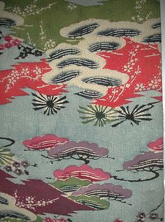 Robe Date: 19th century Culture: Japan (Ryûkyû Islands) Medium: Resist-dyed and painted (bingata) silk crepe Dimensions: Estimated dimensions: H. 70 in. (177.8 cm); W. 60 in. (152.4 cm) Classification: Costumes