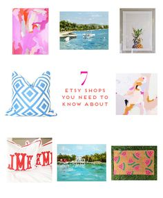 7 Etsy Shops You Need To Know About