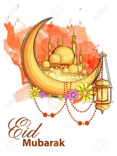 Eid Mubarak to all of you. Happy Holi Wallpaper, Eid Wallpaper, Eid Mubarak Greetings, Happy Eid Mubarak, Ramadan Mubarak, Eid Mubarik, Islamic Events, Cute Birthday Wishes, Eid Mubarak Quotes