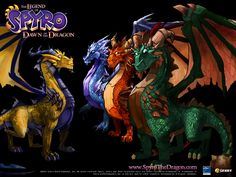 dragon pictures free | Spyro The Dragon - Free Download Wallpaper Games - Daily Free Games ...