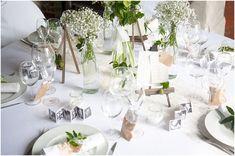 Fraîcheur, simplicité et délicatesse, inspiration décoration de mariage