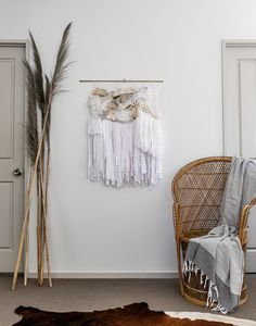 Laine Toia - Bespoke Weavings are hand made wall hangings made in New Zealand using traditional methods influenced by my Maori her Weaving Wall Hanging, Golden Goddess, Tapestry Weaving, Bespoke, Traditional, Blanket, Handmade, Home, Tapestries