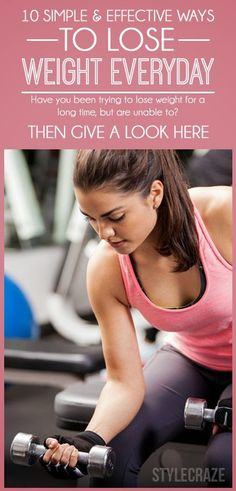 10 Simple & Effective Ways To Lose Weight Everyday | Fit Villas