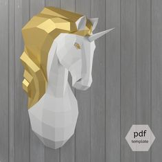 Hey, I found this really awesome Etsy listing at https://www.etsy.com/ca/listing/473986792/papercraft-unicorn-make-your-own-unicorn