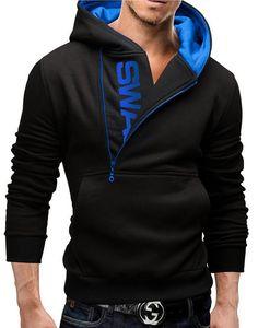 Side Zipper Hot Sleeve Hoodie