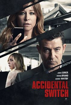 Accidental Switch (2016) (aka: Killer Switch / A Mother's Revenge) Jamie Luner stars as Jennifer, a recovering alcoholic who when she accidentally picks up the wrong bag at the airport has to deal with the psychotic Conner (Steven Brand) who kidnaps Jennifer's daughter and threatens to kill her unless he gets his bag back