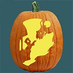 Pumpkin Carving Patterns and Free Pumpkin Carving Patterns and Stencils for your Halloween Jack O Lantern - Midnight Rendezvous