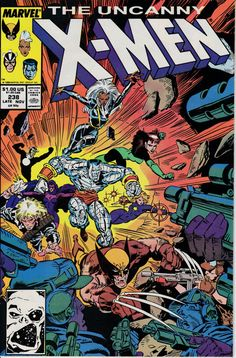 Uncanny X-Men 238 November 1988 Issue  Marvel by ViewObscura