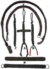 Belts & Slings Paracord Survival Products - SEE THE BEST SURVIVAL PRODUCTS AT http://www.selfdefensegearco.com/survival-gear.php