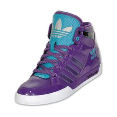 Adidas Originals Hardcourt Hi Women's Casual Shoes ($75) ❤ liked on Polyvore