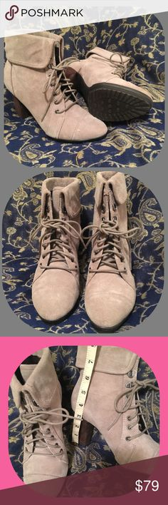 "Easy Spirit Booties 3"" Heel. Super Comfortable. Ankle Huggers. Color Taupe. New. Boxed. Easy Spirit Shoes Ankle Boots & Booties"