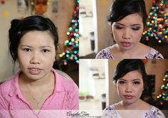 Orange County Asian Makeup Artist and Hair Stylist – Bride Kim >> by Angela Tam Asian Bridal Makeup, Asian Makeup, Korean Makeup, Bride Makeup Natural, Celebrity Wedding Makeup, Eye Makeup Designs, Smoky Eye Makeup, Wedding Makeup Artist, Asian Bride