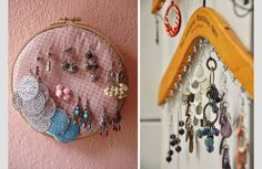 Blog | Perle di cotone: Display#1: earrings